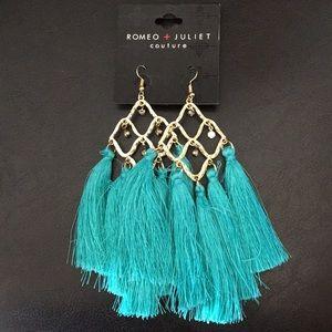 New Romeo & Juliet Chandelier & Turquoise Tassels